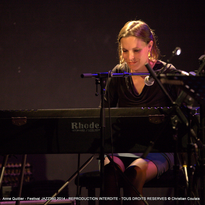 Anne Quillier Sextet, Festival JAZZ360 à Cénac