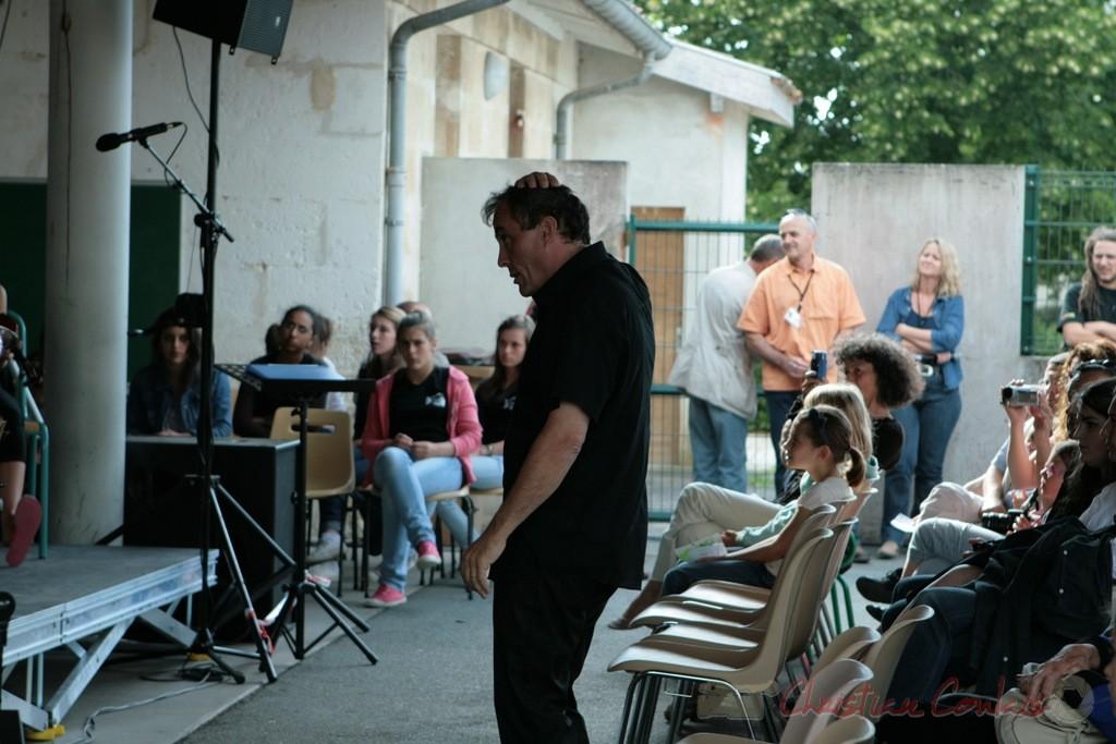 Classes de CM1-CM2 de Sadirac, Lorient, Festival JAZZ360 2011, groupe scolaire de Cénac. 01/06/2011