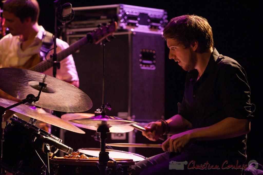 Martin Wangermée, Laurent Coulondre Trio. Festival JAZZ360 2015, Cénac