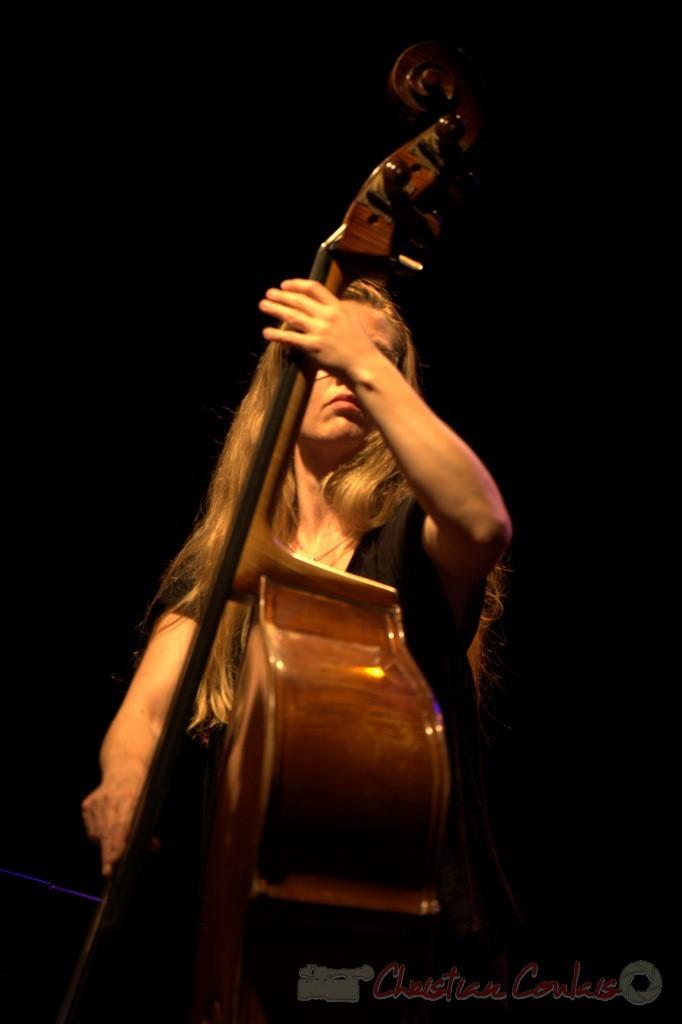 "Nolwenn Leizour; Frédéric Borey ""Lines"" Quartet, Festival JAZZ360 2012, Cénac. 08/06/2012 3/5"