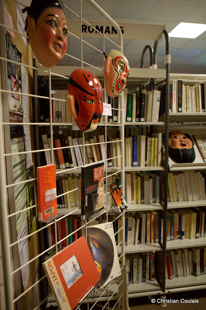Bibliothèque de Cénac, Gironde