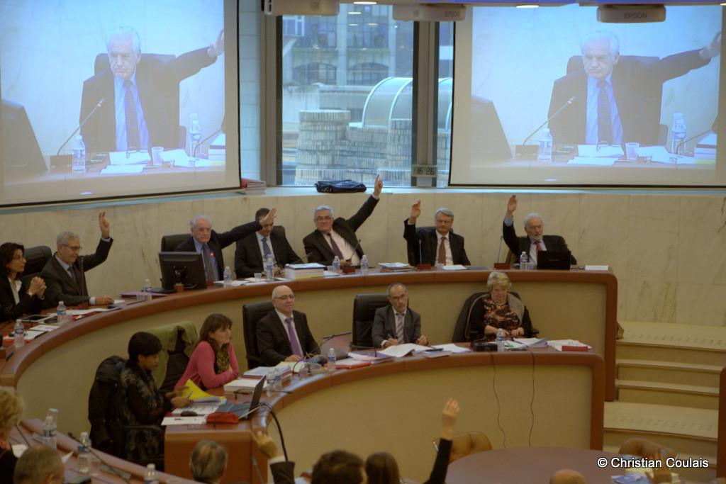 Dernier vote de Philippe Madrelle