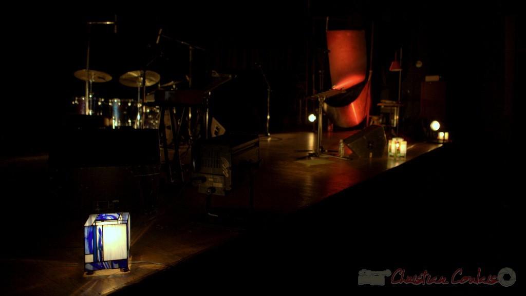 Luminaires : Catherine Magnani. Les jeudis du Jazz, Créon, 16/04/2015. Reproduction interdite - Tous droits réservés © Christian Coulais