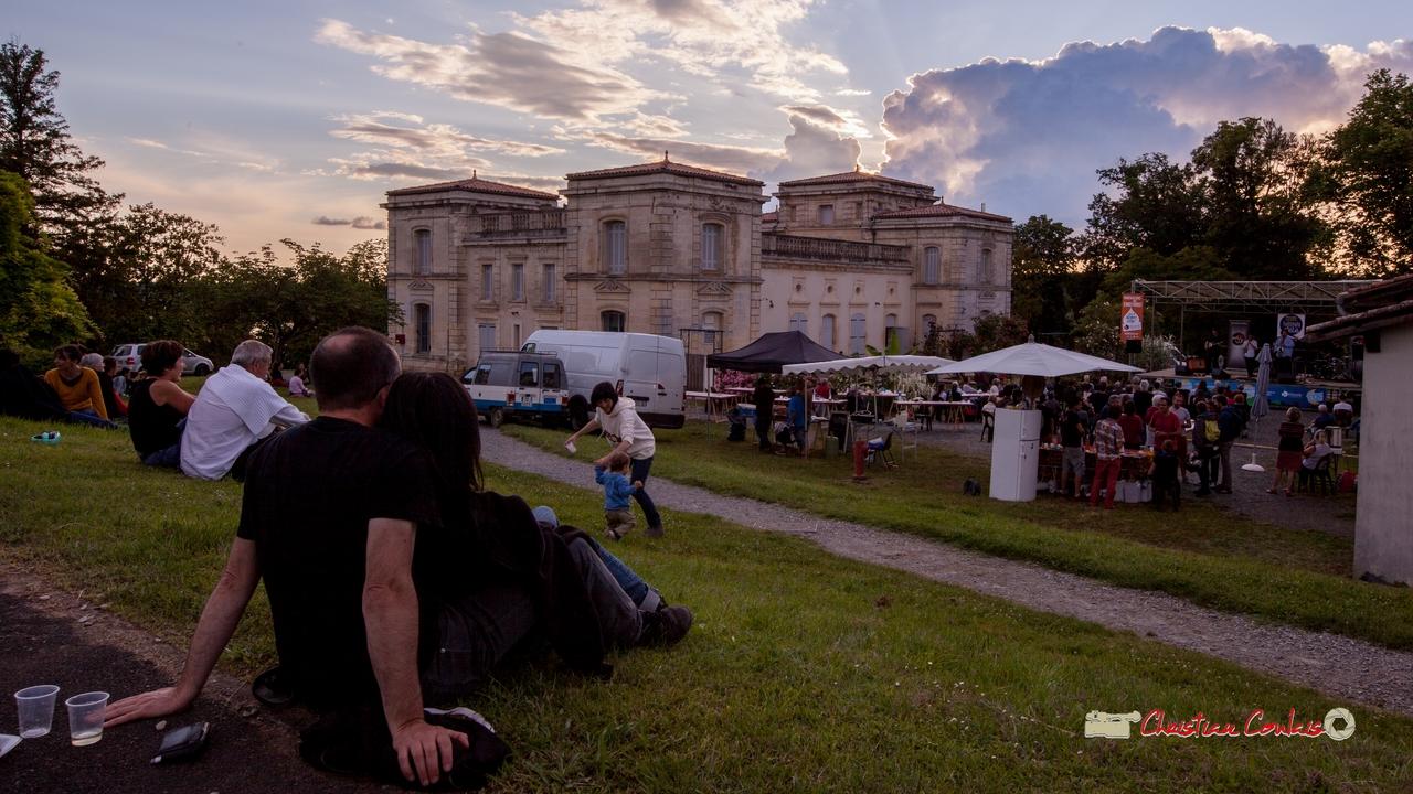 Une très belle fin de journée pour écouter Oggy & The Phonics. Festival JAZZ360 2018, Langoiran. 07/06/2018