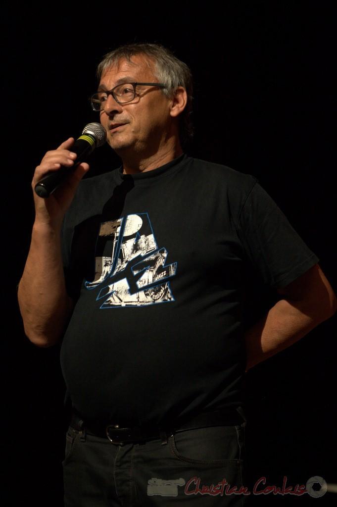 Festival JAZZ360 2015, Richard Raducanu, Président de JAZZ360, Cénac. 13/06/2015