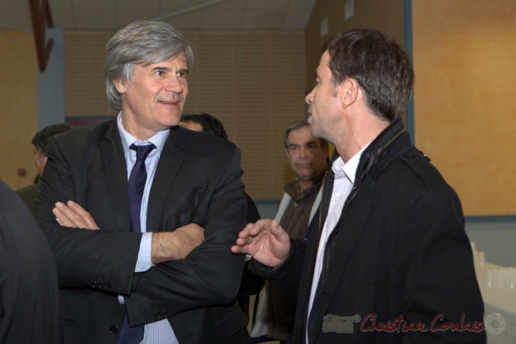 """Stéphane le Foll. Meeting """"Majorité départementale"""" aux élections départementales de la Gironde, Blasimon, 9 mars 2015"""