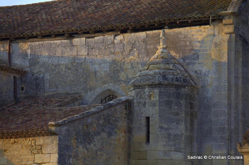 Eglise Saint-Martin de Sadirac. Saint Martin, évêque de Tours, est le saint le plus honoré en Entre-Deux-Mers, Gironde