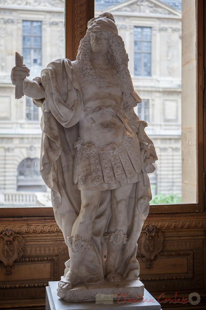 Guerrier en costume antique, Italie (?), Galerie Michel-Ange, Musée du Louvre