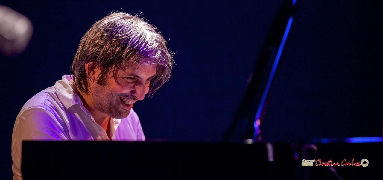 """Vincent Bourgeyx; Vincent Bourgeyx Quartet """"Short Trip"""". Festival JAZZ360 2018, Cénac. 09/06/2018"""