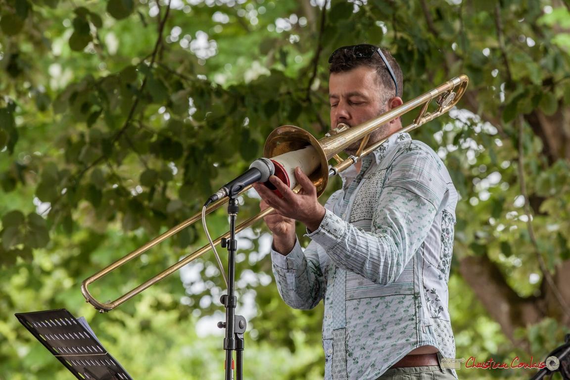 11/06/2016. Daniel Zimmermann, trombone, Éric Séva Quartet. Festival JAZZ360