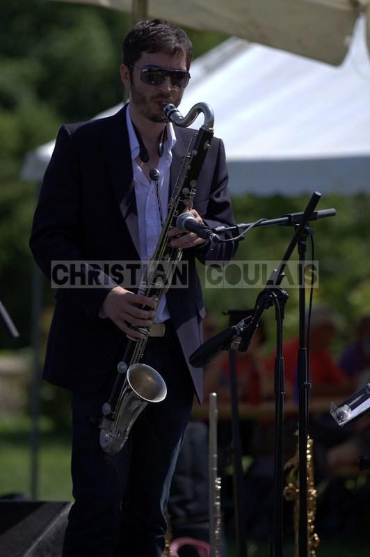 François-Marie Moreau; Akoda Quintet, Festival JAZZ360 2014, Quinsac. 08/06/2014