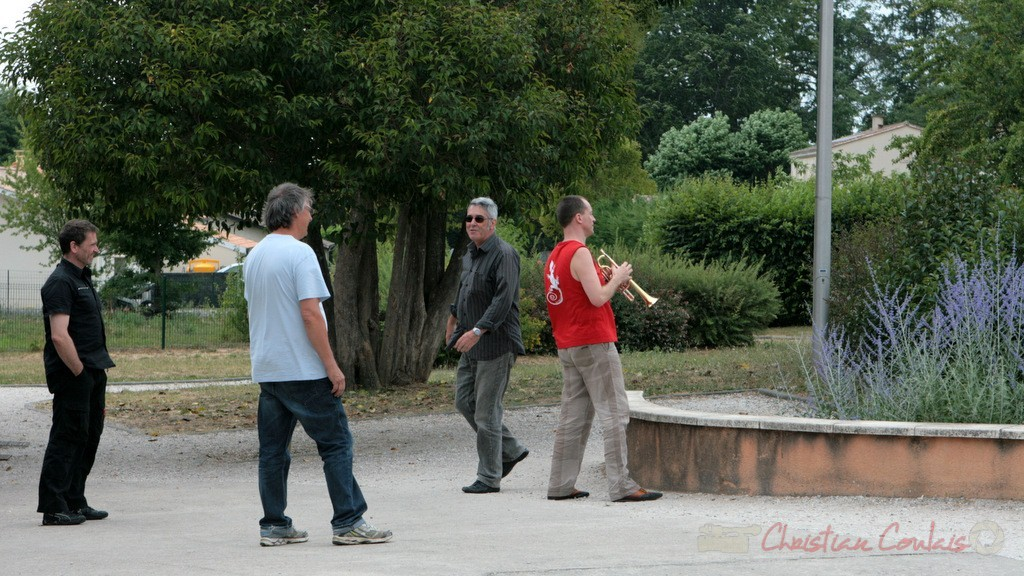 Richard Raducanu, Jean-Paul Robert, Médéric Collignon, Festival JAZZ360 2011, Cénac. 04/06/2011