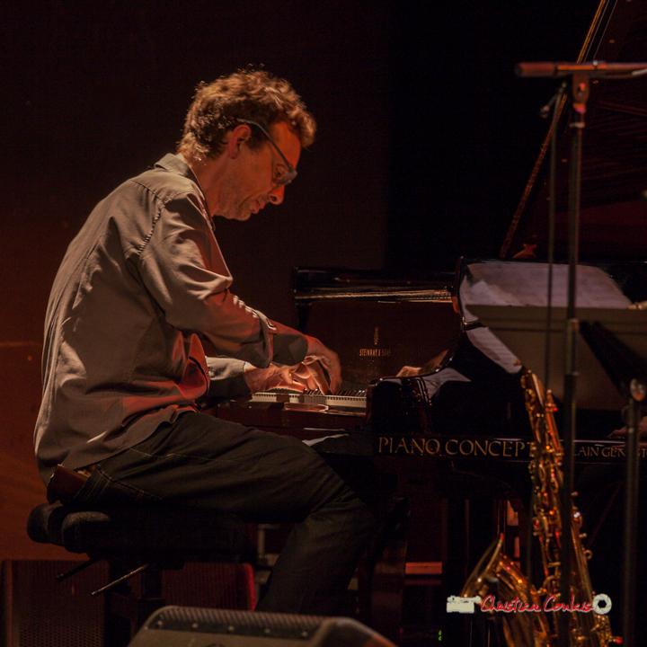 8 Pierre de Bethmann, pianiste & compositeur. Festival JAZZ360 2019, Cénac. 07/06/2019
