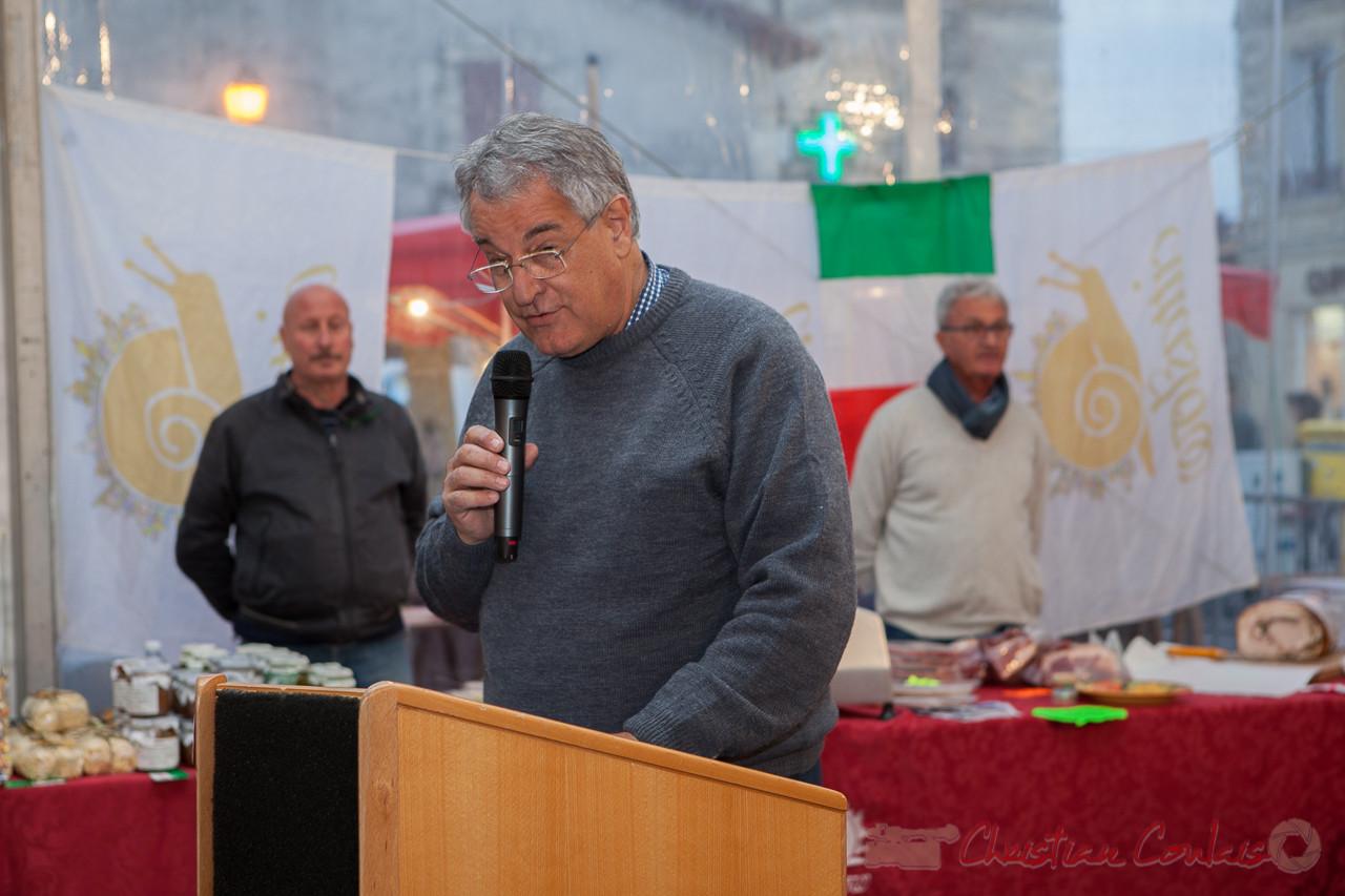 Mot de bienvenue de Pierre Gachet, Maire de Créon
