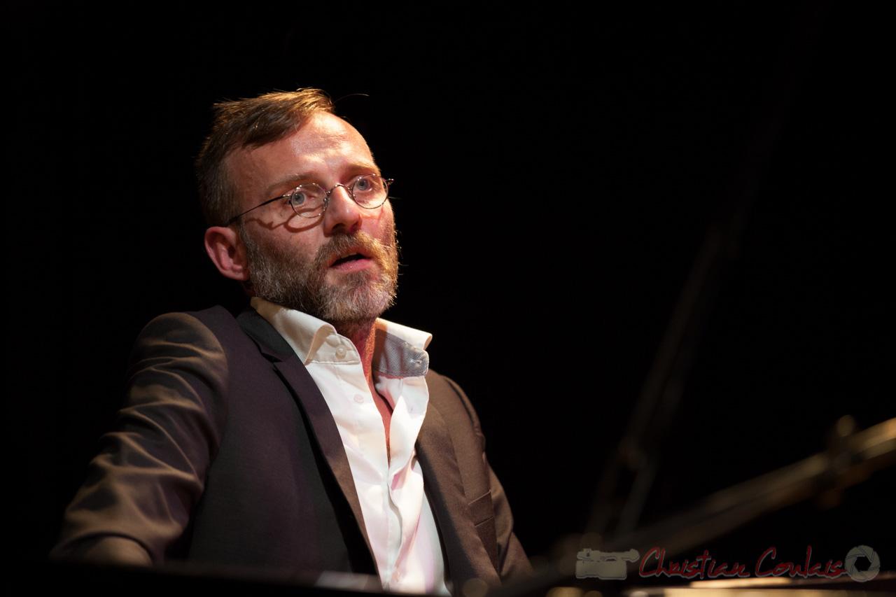 Trio Marcelle, Cédric Jeanneaud, pianiste, compositeur. Soirée Cabaret JAZZ360, Cénac, 05/11/2016