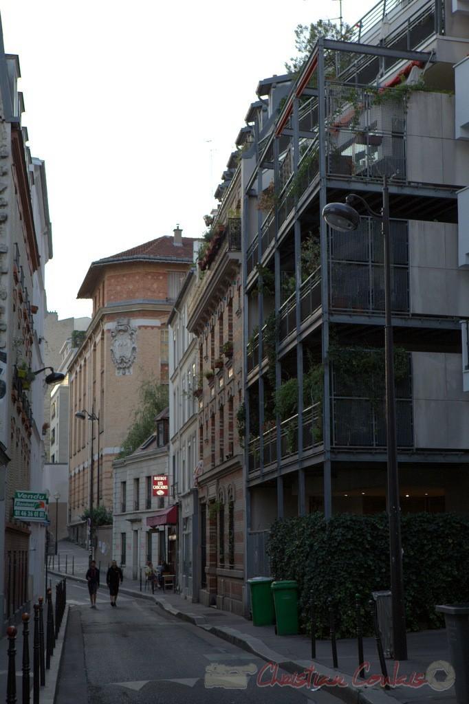 Rue des Cascades, Paris 20ème