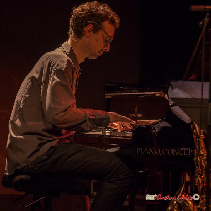 5 Pierre de Bethmann, pianiste & compositeur. Festival JAZZ360 2019, Cénac. 07/06/2019