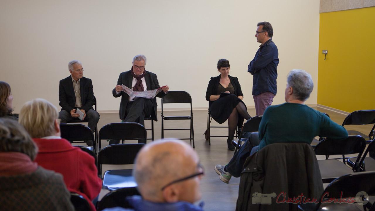 Le Maire de Quinsac, Lionel Faye accueille les Conseillers départementaux