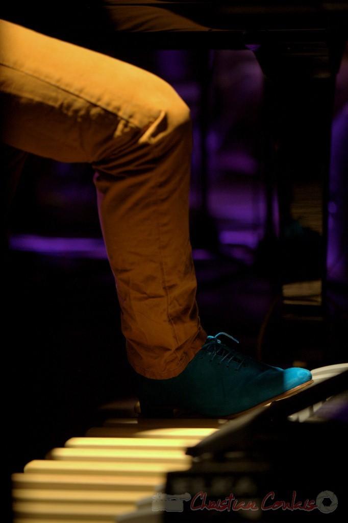 2/2 Jeu de pédales. Festival JAZZ360 2015, Laurent Coulondre; Laurent Coulondre Trio. Cénac, 12/06/2015