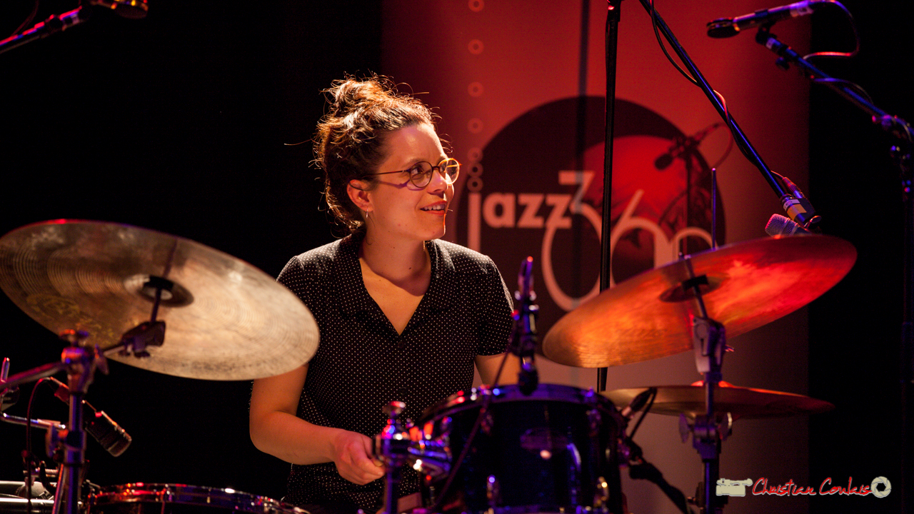 Anne Paceo; Anne Paceo Circles. Festival JAZZ360, Cénac, 10 juin 2017