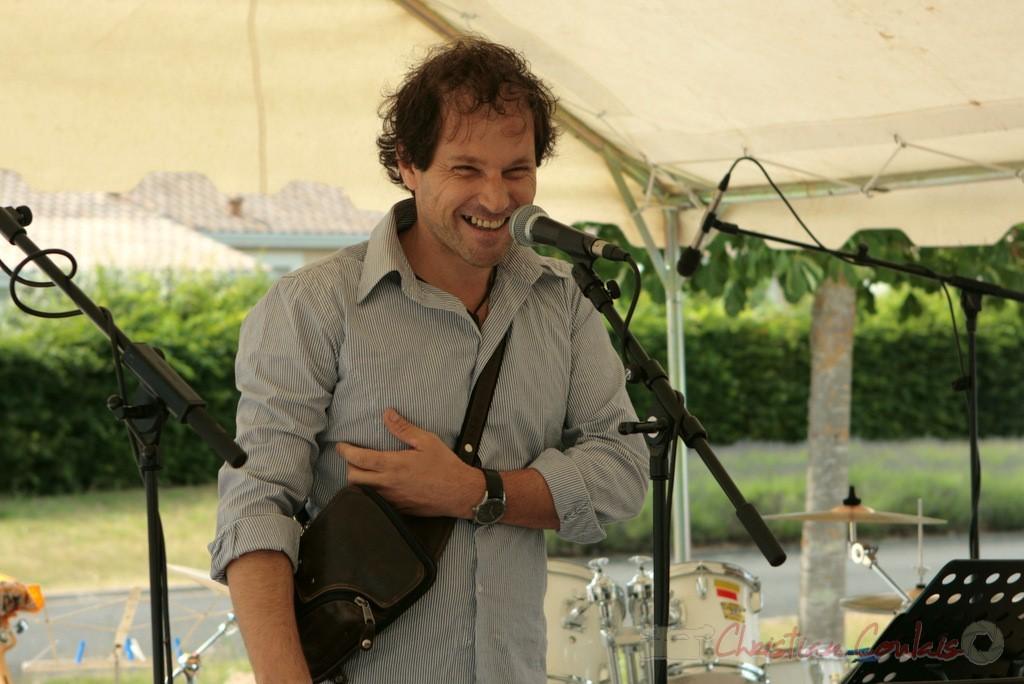 Frédéric Borey présente son Atelier Jazz de l'I.R.E.M., Institut Régional d'Expressions Musicales, Festival JAZZ360 2011, Cénac, 04/06/2011