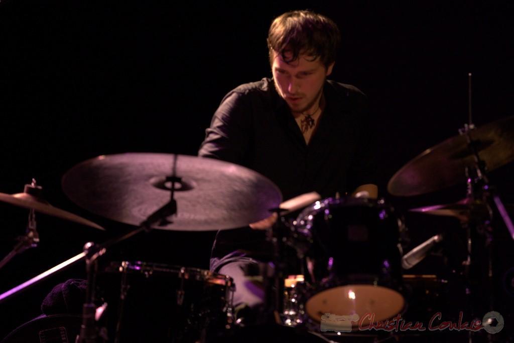 Festival JAZZ360 2015, Martin Wangermée; Laurent Coulondre Trio. Cénac, 12/06/2015