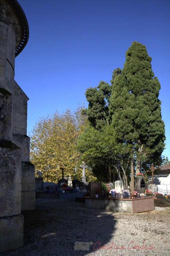 Cimetière de Cénac, Gironde