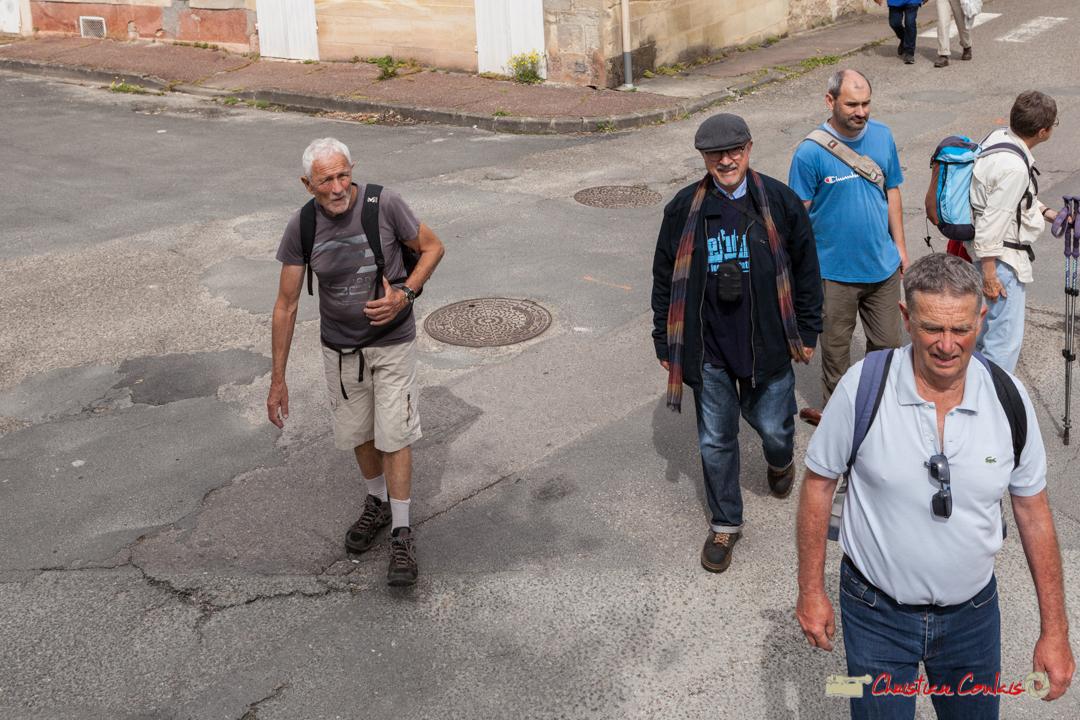Avec la participation de Dom Imonk d'Action Jazz. Arrivée de la randonnée pédestre du Festival JAZZ360, de Cénac à Quinsac. 10/06/2018