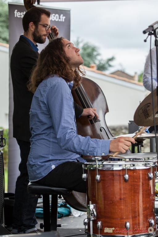 12/06/2016. Jéricho Ballan, batterie, Alexis Valet Sextet. Festival JAZZ360