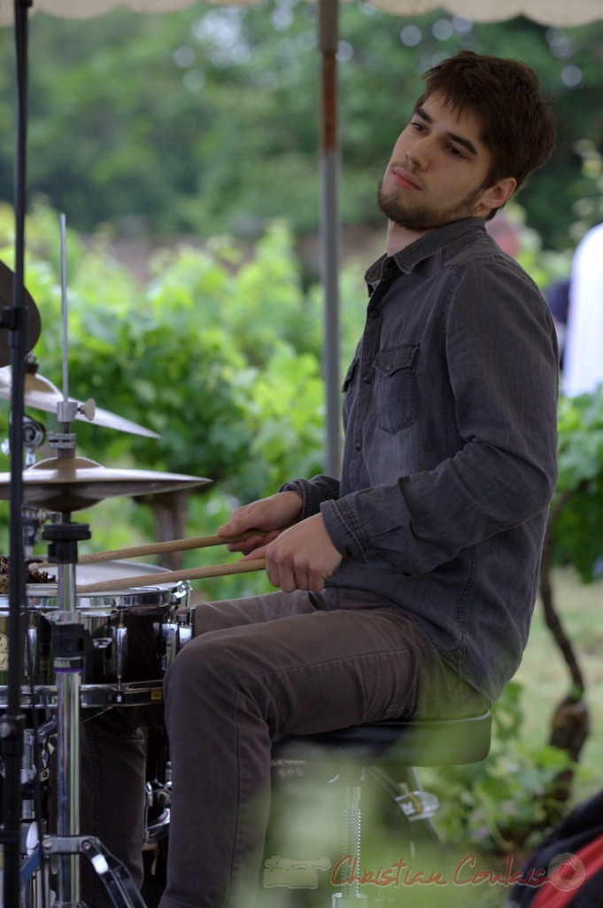 Festival JAZZ360 2015, Tom Peyron; Isotope Trio, Quinsac. 14/06/2015