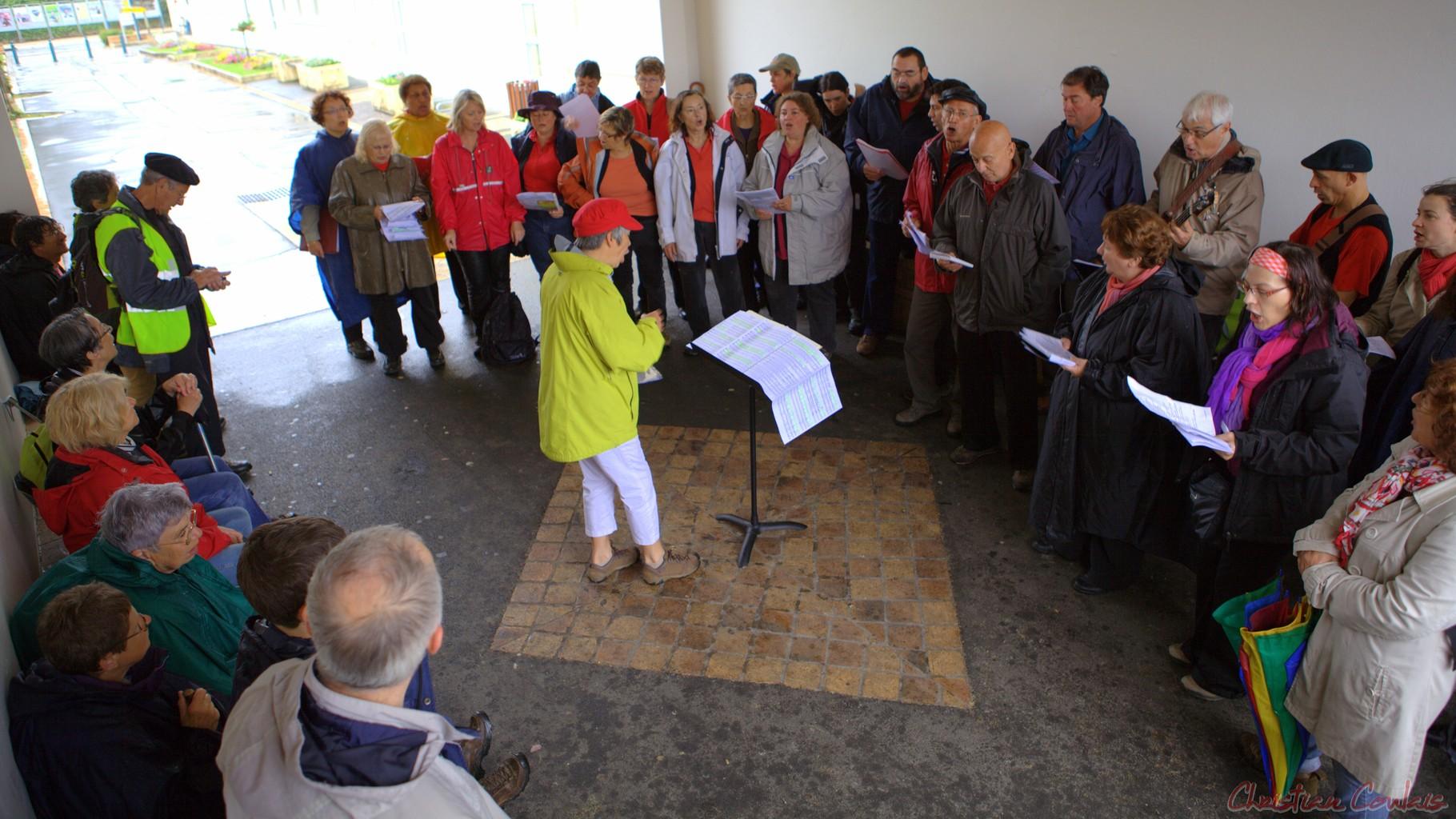 Festival JAZZ360 2012, Randonnée jazzy de Cénac à Quinsac avec les Choraleurs