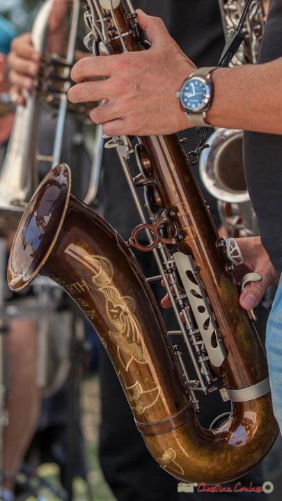 Saxophone ténor Julius Keilwerth SX90R Vintage de Yohann Pichon; Soul Kitchen, Festival JAZZ360, Quinsac. 11/06/2017
