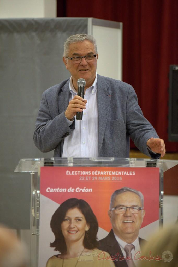Jean-Marie Darmian, candidat aux élections départementales