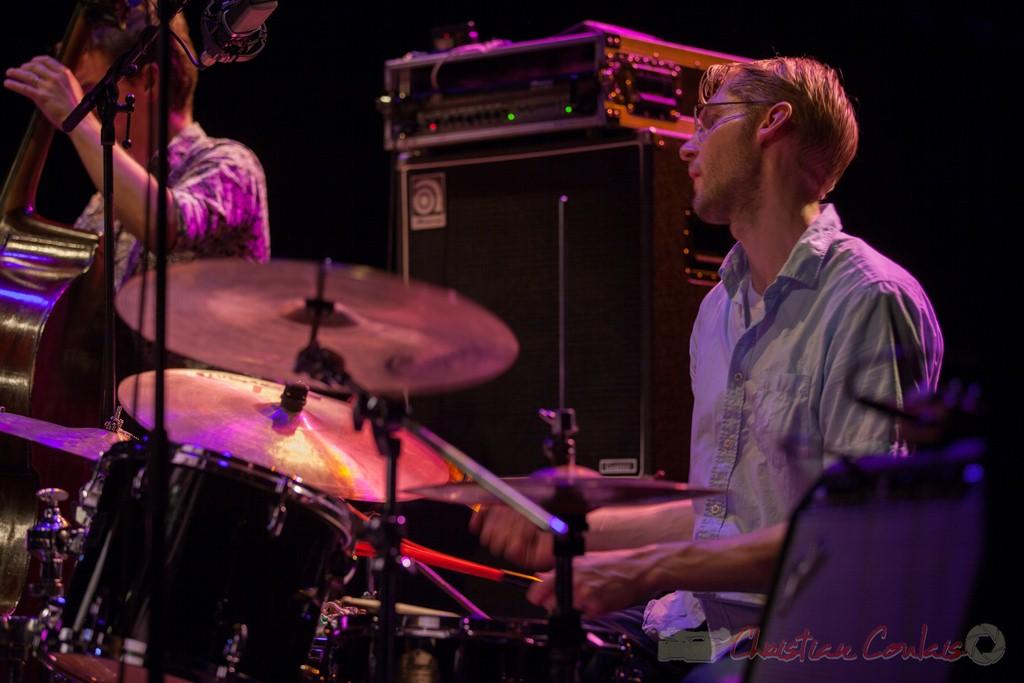 Karl Jannuska, Thomas Savy Quintet. Festival JAZZ360 2015, Cénac