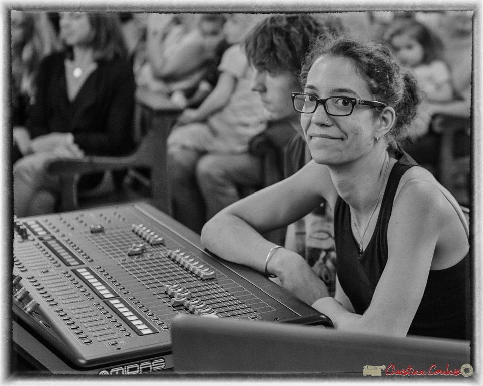 10/06/2016. Charlotte Leric, équilibriste des sons extérieurs. Festival JAZZ360