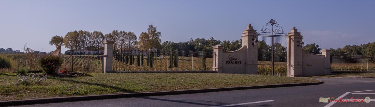 Château Frachet, ancien domaine de Ricmont, préalablement domaine Barre. XVIIIème siècle. Avenue de Bordeaux, Cénac, Gironde. 16/10/2017