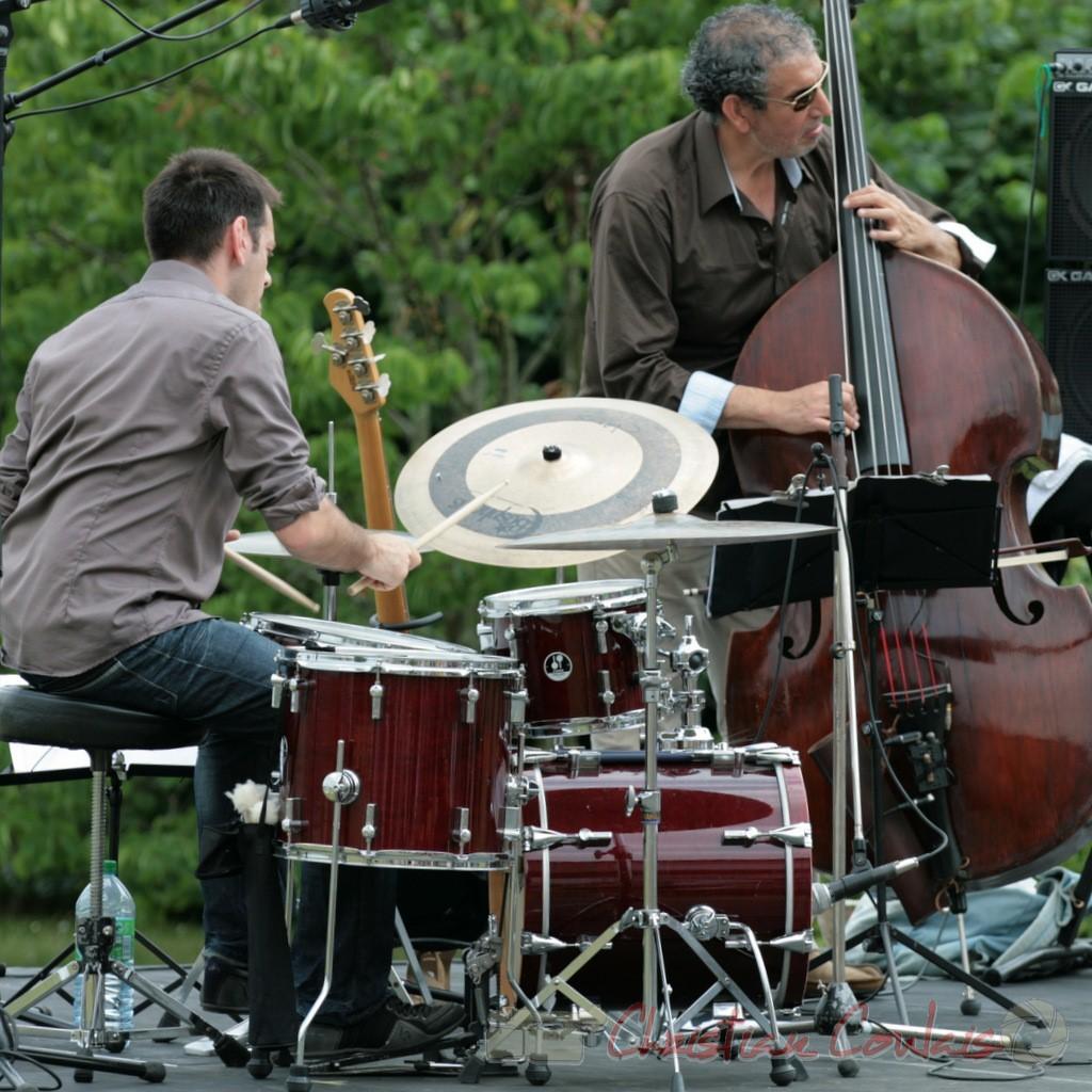 Didier Ottaviani, Iazid Ketfi; Philippe Bayle Trio, Festival JAZZ360, Quinsac. 05/06/2011