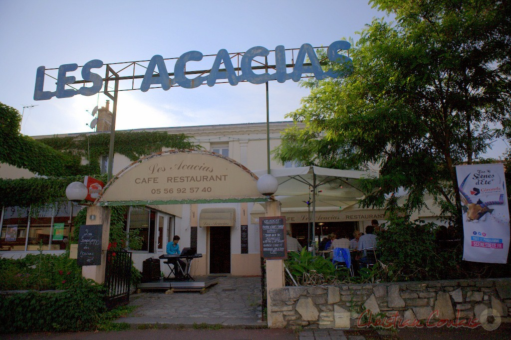 Souper Jazz au restaurant les Acacias, avec Phil Gueguen