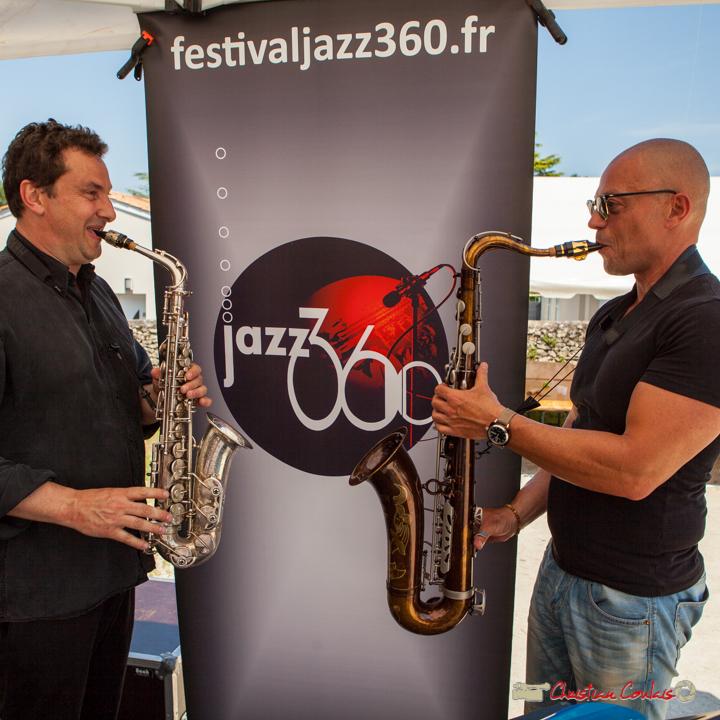 Denis Bonithon & Yohann Pichon; Soul Kitchen, Festival JAZZ360, Quinsac, 11 juin 2017