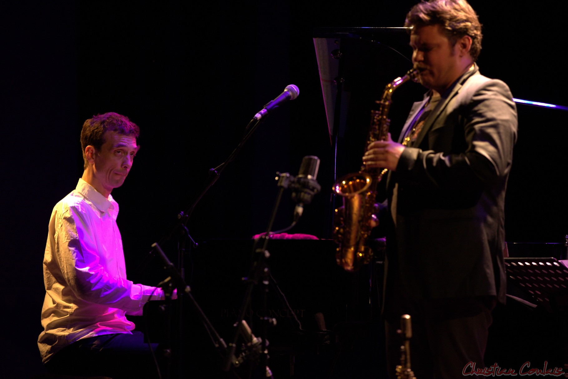 Festival JAZZ360 2014, Pierre de Bethmann, Baptiste Herbin, Cénac