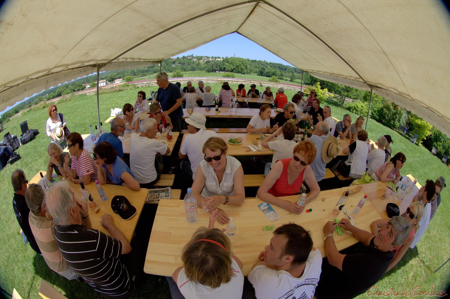 Festival JAZZ360 2014, le grand air et la musique ouvriront les apétits ! Château Lestange, Quinsac
