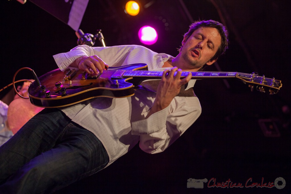 Mickaël Felberbaum, Thomas Savy Quintet. Festival JAZZ360 2015, Cénac