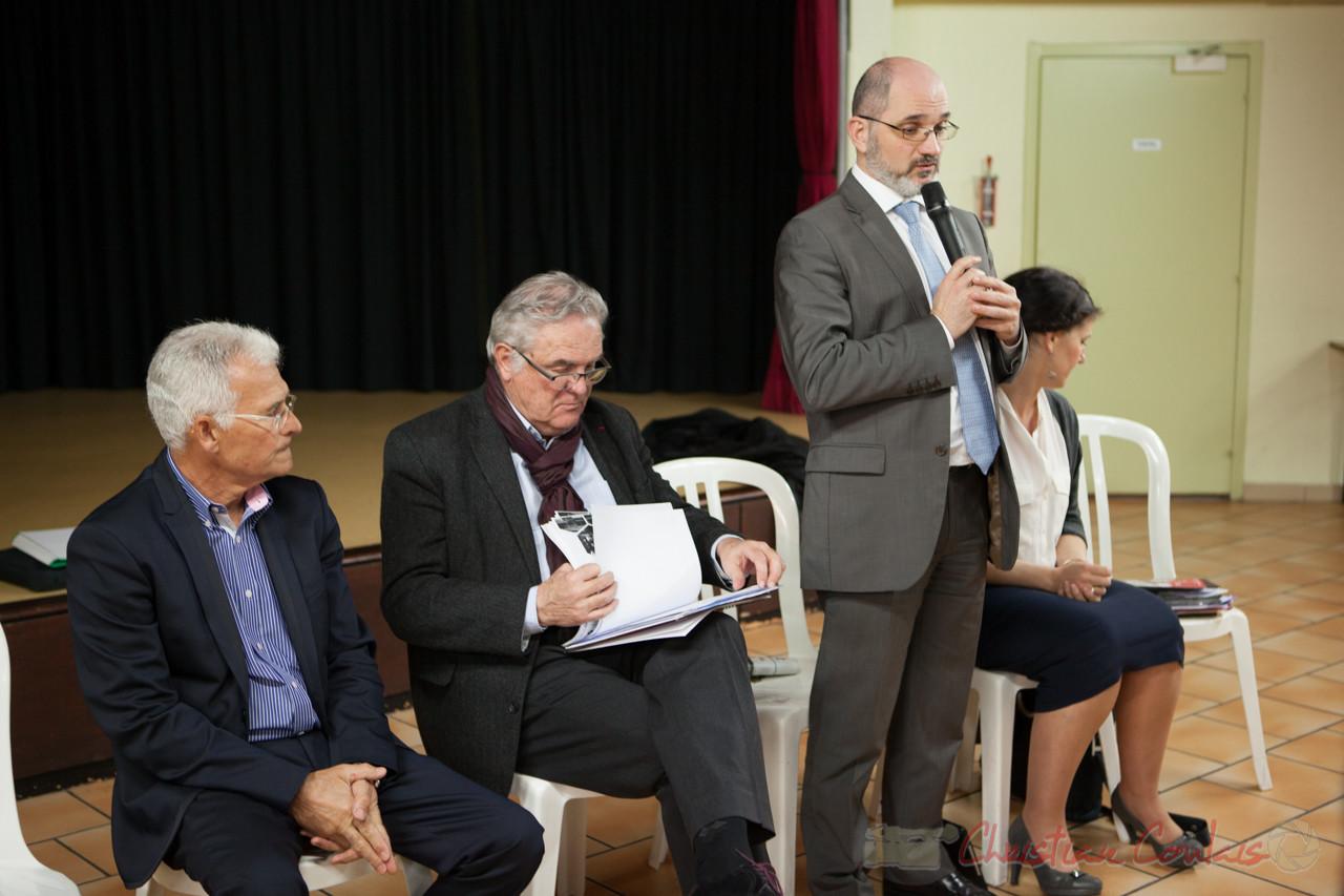 Christian SOUBIE, Maire de Tresses, première réunion publique du mandat des Conseillers départementaux