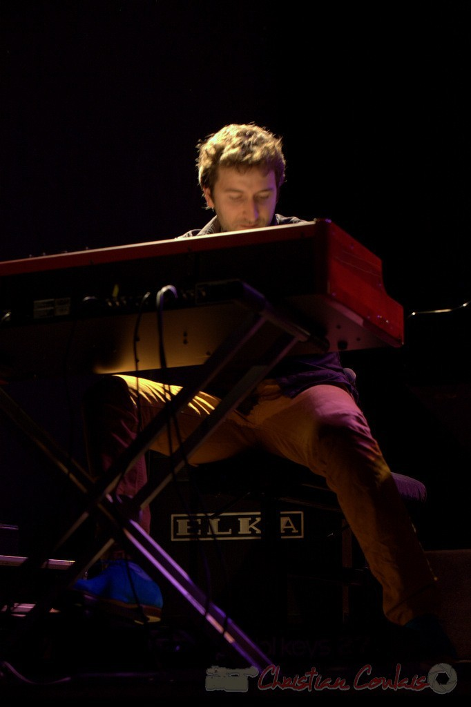 Festival JAZZ360 2015, Laurent Coulondre; Laurent Coulondre Trio. Cénac, 12/06/2015
