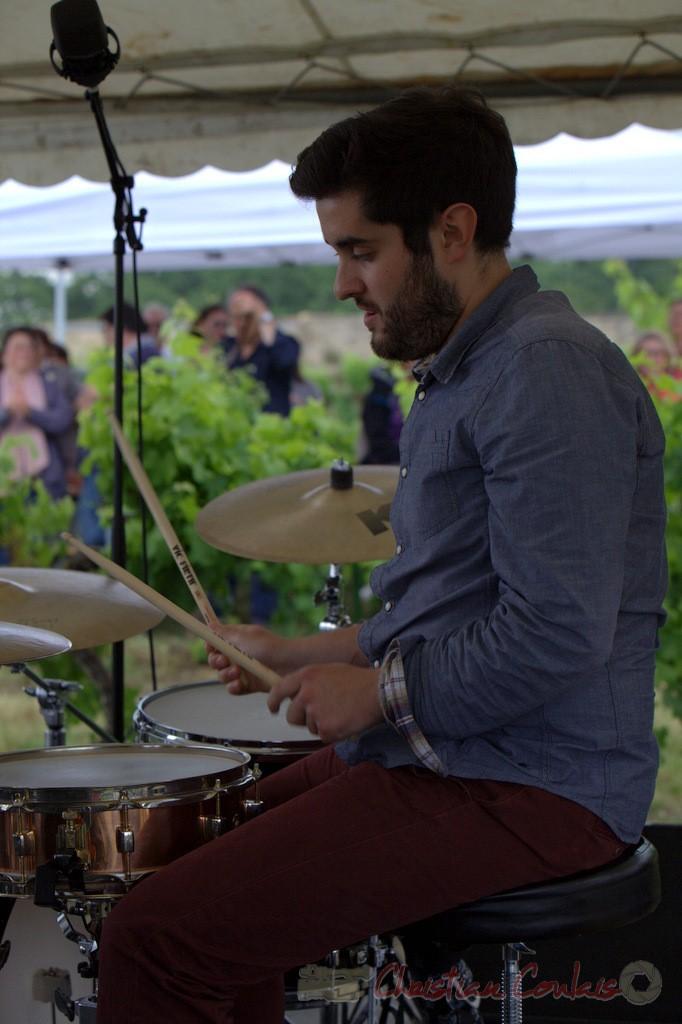 Festival JAZZ360 2015, Julien Lavie; Electro Boots. Château Lestange, Quinsac. 14/06/2015