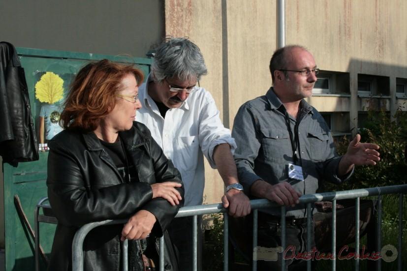 Annie et Jean-Paul Robert, Jean-Pierre Monseigne, tous à l'initiative, avec Richard Raducanu de la création du Festival JAZZ360.