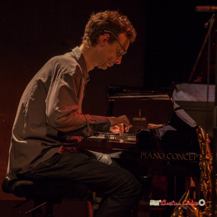 4 Pierre de Bethmann, pianiste & compositeur. Festival JAZZ360 2019, Cénac. 07/06/2019