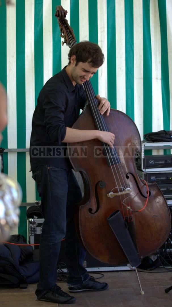 Festival JAZZ360 2014, Gabriel Pierre; Delbosque Band. Cénac, 07/06/2014