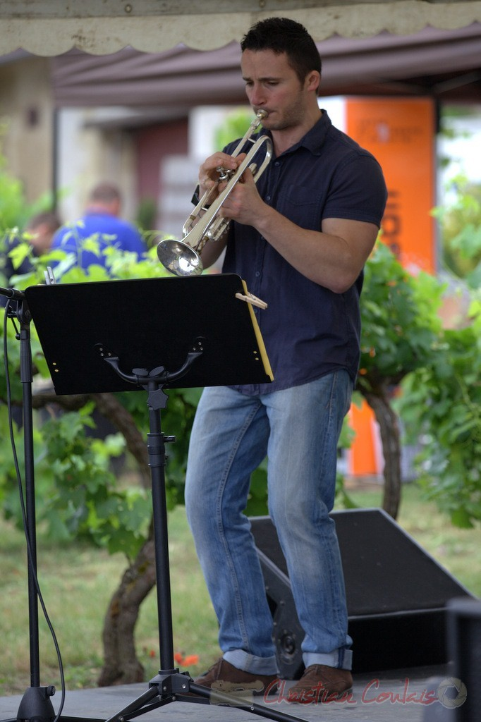 Festival JAZZ360 2015, Olivier Gay; Isotope Trio, Quinsac. 14/06/2015