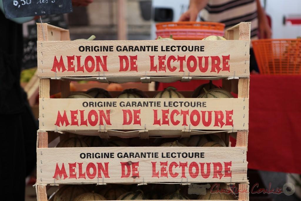 Melon du Gers, Marché de Créon, Gironde